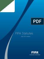 FIFA Statutes 2013