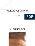 Projects Done in India