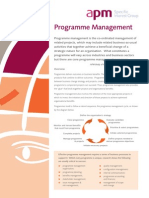 Program Mgmt Fact Sheet-APM
