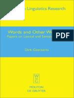 Iif_kgpm_Geeraerts D. Words and Other Wonders