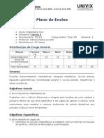 Plano de ensino de Cálculo II - 20-13-1 CIV-A-MAT