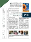 Bureau of Oral Health Newsletter - Issue 1