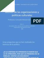 Gestión de las organizaciones y políticas culturales_ Clase 05_Hegemonía y Reproducción cultural
