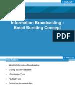 Information Broadcasting _ Email Bursting