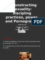 sexual docile body and pornography
