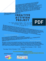 Join the Creative Activism Project(1)