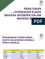 Peraturan Penyesuaian Ejaan Bahasa Inggeris Dalam Bahasa Melayu2
