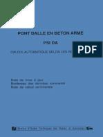 Pont Dalle en Beton Arme