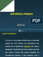 1 - Materias primas
