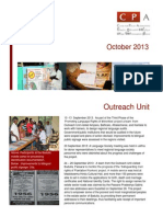 CPA Newsletter - October 2013