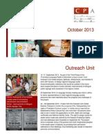 CPA Newsletter - October 2013