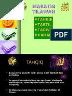 MARATIB TILAWAH