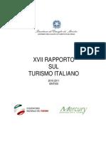 Rapporto Sintetico Sul Turismo Italiano 17