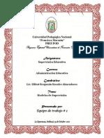Informe de Exposicion Supervision Educativa