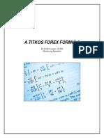 A Titkos Forex Formula - By Profit Scenario