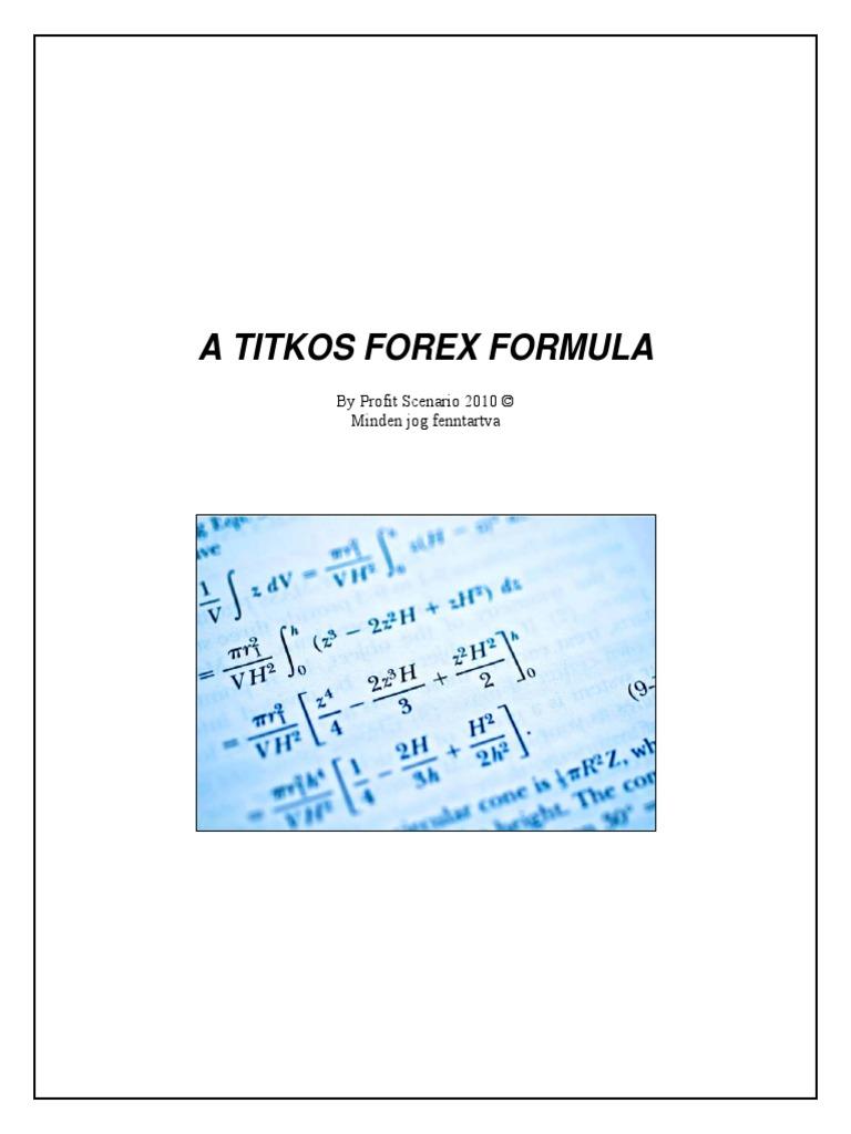 Forex profit formula download
