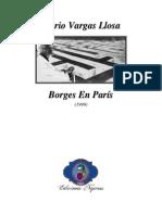 1999 - Mario Vargas Llosa _ Borges En París (Artículo)