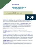 sindrome catatonico