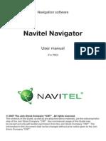 Manual NavitelNavigator5.5 PDA ENG