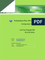 LinkTrust Firewall/UTM X3-X5 VPN Router & GreenBow IPSec VPN Client Software Configuration