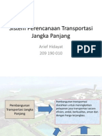 Sistem Transportasi Perencanaan Jangka-panjang