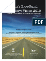 India's Broadband Economy_Vision 2010_Vision Strategies Recommended Action_2004_Executive Brief