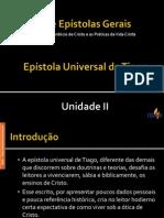Unidade II - Hebreus e Epístolas Gerais.ppsx