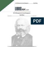 Marx - El 18 Brumario