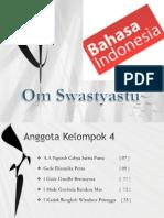 Bahasa Indonesiaaa Klmpk 4