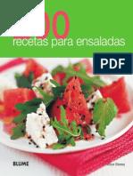 200 recetas ensaladas