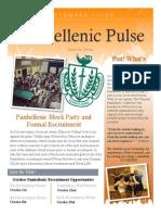 Panhellenic Pulse - September 2013