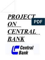 A Project on Central Bank
