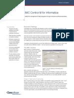 Control-M for Informatica