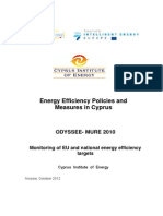 Energy Efficiency Policies and Measures in Cyprus