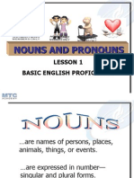1 Nouns and Pronouns