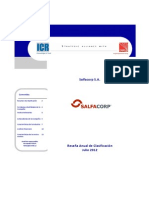 Salfacorp Resena Anual de Clasificacion Julio 2012