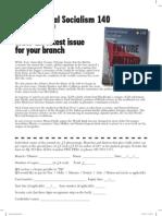 ISJ Branch Order Form 140