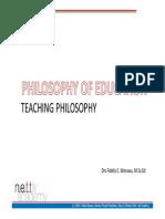 Educational Philosophy 1