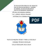 Plan de Trabajo Consejo Tec.