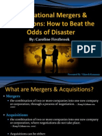 Transnational Mergers & Acquisitions