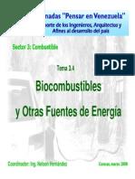 Biocombustibles y Otras Fuentes de Energía