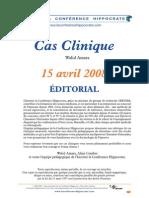 Cas Clinique 15 Avril 08 2