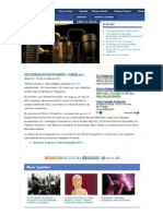 Dossier de prensa (medios dixitais). Outono Fotográfico 2011