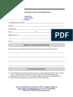 Vendor Participation Form