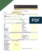 Formulário de Cotação Automovel