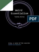 Weird Essentialism