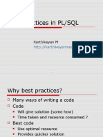 Best+Practices+in+PL SQL