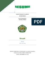 Resume Kajian Mushaf Al-quran Indonesia PDF
