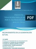Fundación Mexicana para la Nutrición, A
