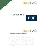 Clase 6 (Capacitaciòn)